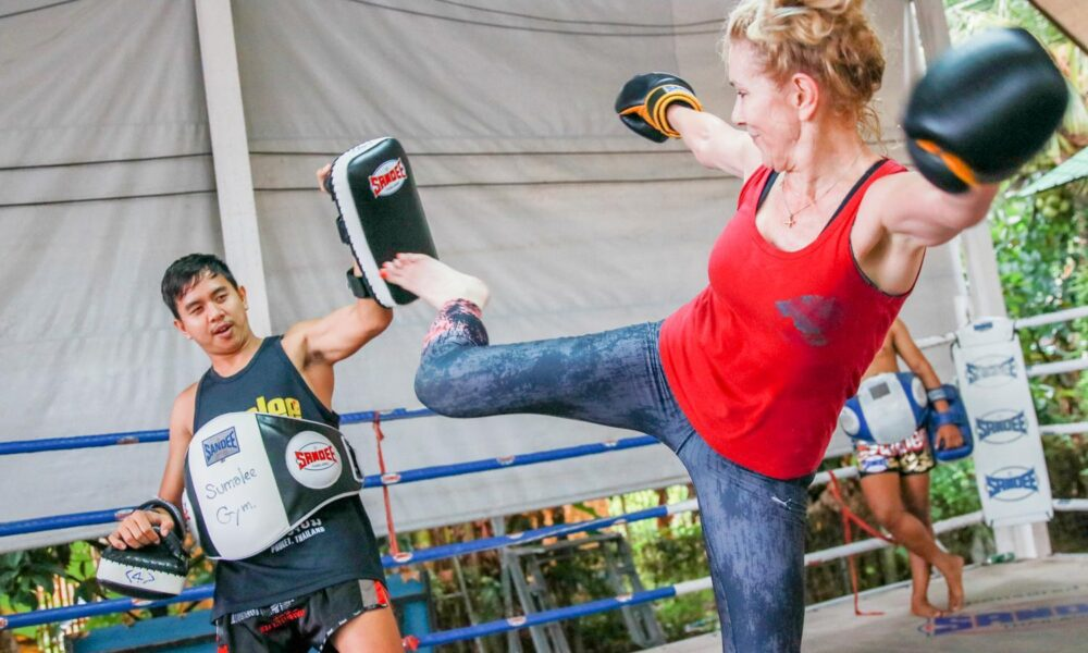 SuWit Muay Thai Boxing in Thailand with Innovative Internet Solution